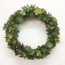 you can now get succulent christmas wreaths delivered australia