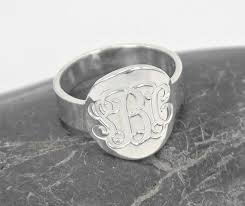 monogramed rings compare prices on sterling silver monogrammed rings online