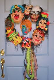 Folk Art Halloween Decorations Best 25 Vintage Halloween Decorations Ideas Only On Pinterest