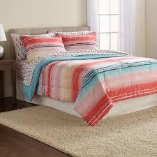Pink Striped Comforter Joe Boxer 3 Piece Comforter Set Brittany