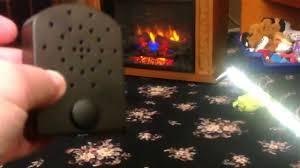 full review of comfort smart fire crackler sound effect battery