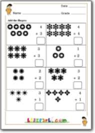 single digit addition for first grade class 1 math worksheets