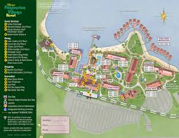 Disney Florida Map by Disney U0027s Polynesian Resort Map Wdwinfo Com