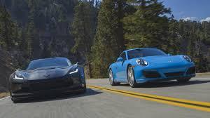 porsche 911 vs corvette 2017 chevrolet corvette grand sport vs porsche 911 s
