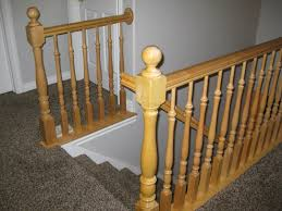 What Is A Banister On Stairs by Remodelaholic Stair Banister Renovation Using Existing Newel