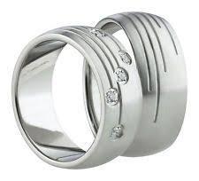 verlobungsringe partnerringe ring edelstahlschmuck fingerring schraubenmutter form