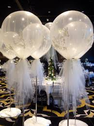 Balloons On Sticks Centerpiece by The 25 Best Tulle Balloons Ideas On Pinterest Tulle Baby Shower