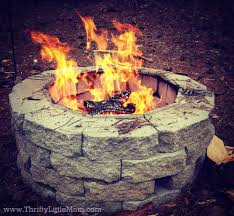 Fire Pit Build Your Own Backyard Fire Pit Using Free Materials Thrifty