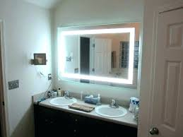 wall mounted hardwired lighted makeup mirror led lighted makeup mirror wall mounted hardwired hard wired med mirror