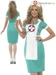 ladies scrub nurse costume doctor fancy dress hen party
