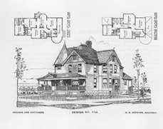 queen anne victorian design and plans 1896