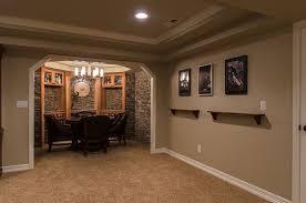 elegant simple basement finishing ideas with furniture basement