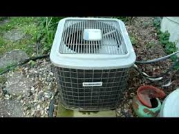 Comfort Maker Ac Frozen Furnace And Air Conditioner Youtube