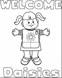 marvelous scout paper doll printable coloring pages with