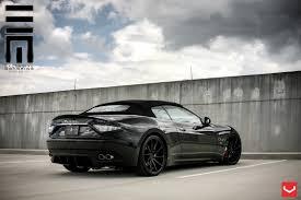 maserati quattroporte black rims all black convertible maserati granturismo revamped by exclusive