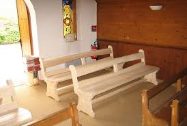 chaise d église menuiserie delucinge ebéniste thonon haute savoie 74 mobilier d