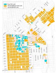 Map Of San Francisco Neighborhoods by Eastern Neighborhoods Map Planning Department