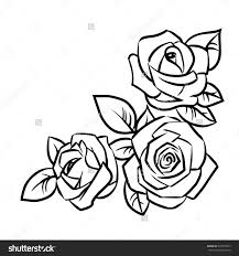 25 rose drawing simple ideas easy rose