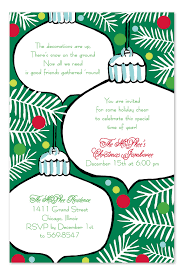 hanging ornaments holiday invitations by invitation consultants