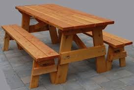 picnic table plans detached benches gorgeous free picnic table plans with separate benches picnic tables