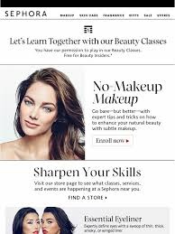 free makeup classes sephora enroll now no makeup makeup class milled