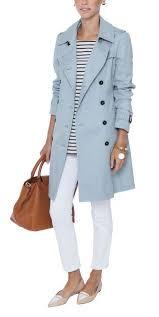 light blue trench coat light blue trench coats howtowear fashion