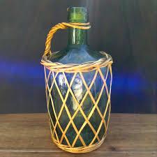 dame jeanne deco dame jeanne bonbonne vase forme bouteille en verre recyclé vert