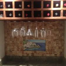 Cork Backsplash Tiles by My Wine Cork Letter J For My New G U0026 J Wall Cool Stuff
