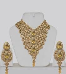 and jewelry jewelry from india heavy indian bridal jewelry set with stones