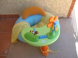 siege gonflable smoby siège d activités bouée gonflable cosy seat cotoons smoby avec