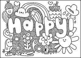 free coloring pages for teens color zini