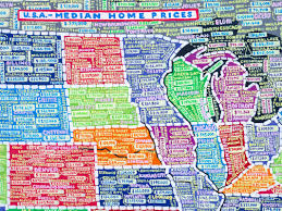 Chicago Demographics Map by Designer Paula Scher Makes Beautifully Skewed Hand Painted Maps Of