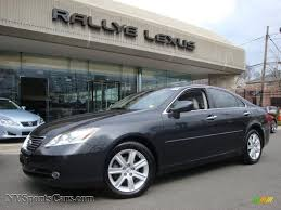 light gray lexus 2007 lexus es 350 in smokey granite mica 092777 nysportscars