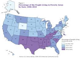 Map Of The 50 States Poverty Map Usa My Blog