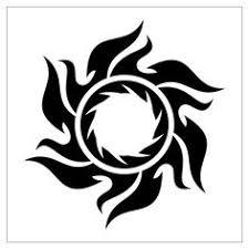 tribal designs armband cross sun tribal tattoos