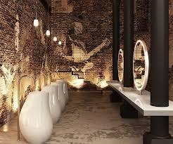 restaurant bathroom design best 25 restroom design ideas on masculine bathroom