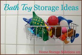 bathroom toy storage ideas bath toy storage organization ideas