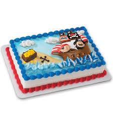 amazon com little pirates decoset cake decoration toys u0026 games