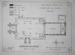 All Saints Church Floor Plans by The Church Of St And All Saints In Whalley The Family De Mitton
