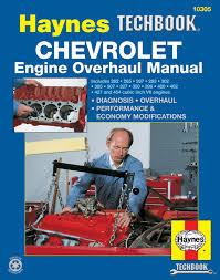 chevrolet engine overhaul haynes techbook haynes manuals