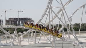 in abu dhabi roller coaster abu dhabi theme park expansion vargas blooloop