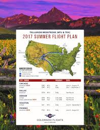 Montrose Colorado Map by Flight Schedules Montrose County Official Website