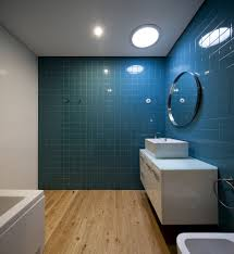 CMM  Spaceworkers Blue Tiles Tile Design And Blue Bathroom Decor - Blue bathroom design