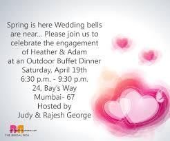 hindu engagement invitations wedding invitation lovely wedding invitation wording in