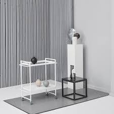 kristina dam bauhaus trolley in white u2013 the minimalist