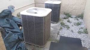 Total Comfort Hvac Two 1995 Lennox Total Comfort Systems Hvac Units Youtube