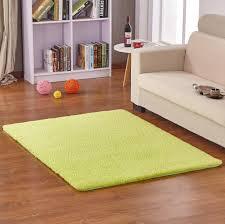 Carpets For Living Rooms Amazon Com Hoomy Fluffy Floor Mats Apple Green Living Room Area