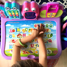 Kids Activity Desk by An Activity Desk To Lure Your Toddler Away From Their Smart Device