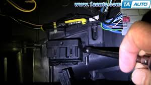 how to install replace ac heater fan speed resistor chrysler