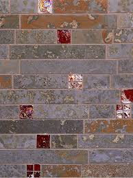 Quartzite Slate Subway Backsplash Tile by Slate Backsplash Tiles Zyouhoukan Net